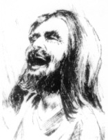 lauging jesus